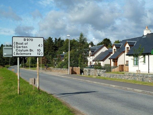 Leaving Nethybridge