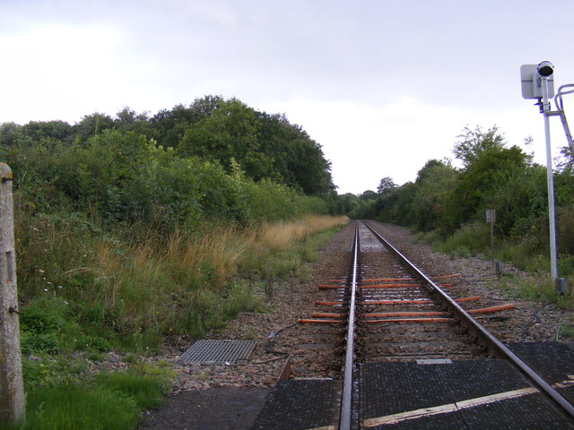 Along the railway line towards Brampton