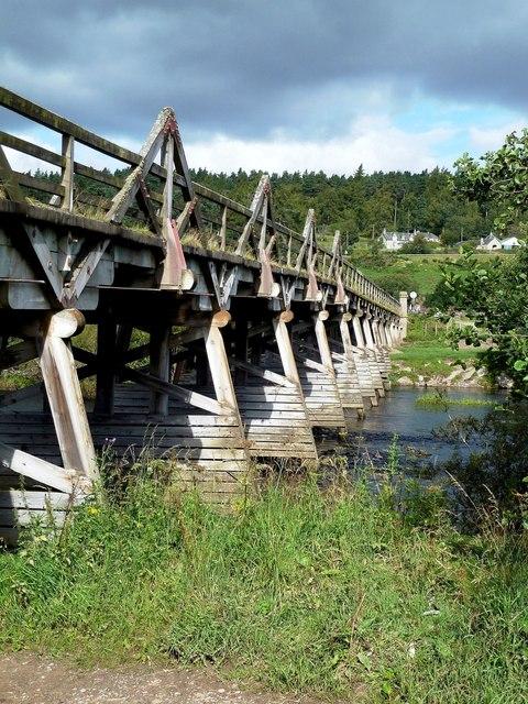 Below Broomhill Bridge