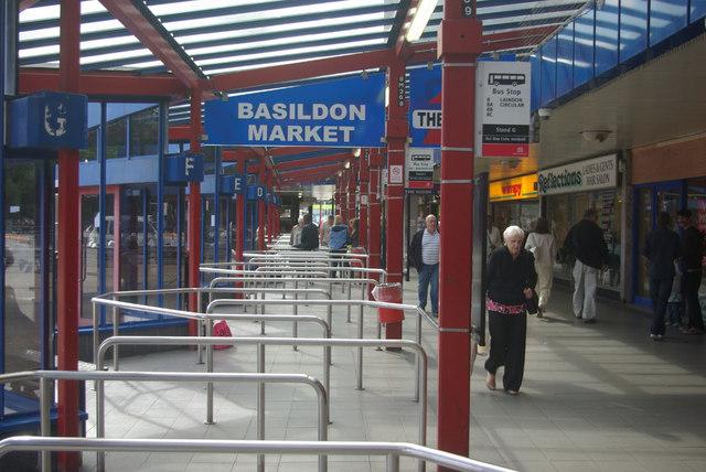 Basildon Bus Station