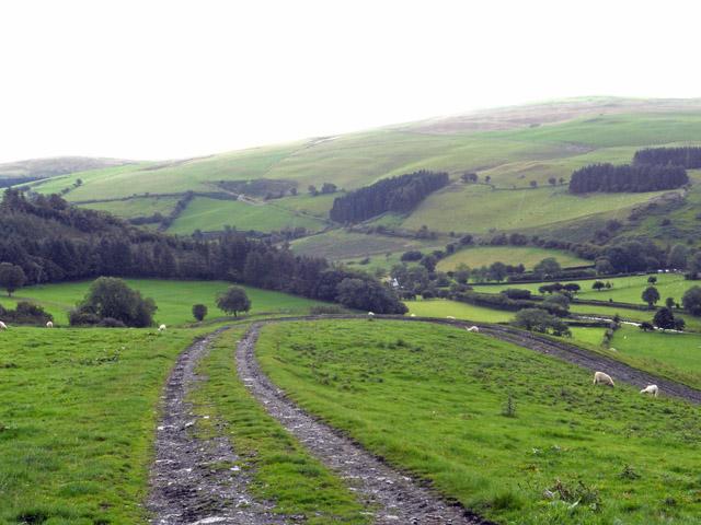 Ceiriog Valley near Pentre