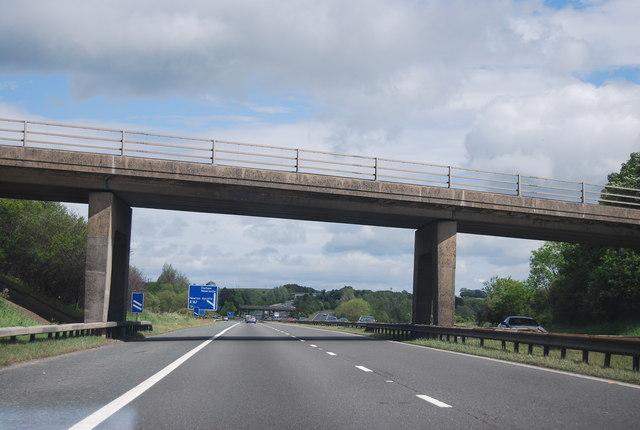 Coatham Lane overbridge, A1(M)