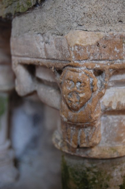 Detail of Font, St Clement's Church