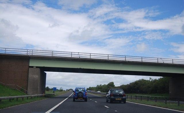 Preston Lane overbridge, A1(M)