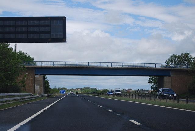 Overbridge to Little Isle, A1(M)