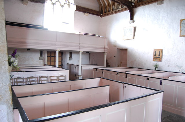 Interior of St Clement's Church, Old Romney