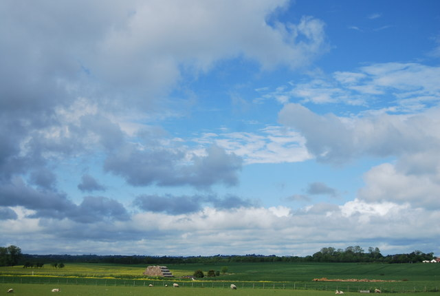 Clouds west of the A1(M)