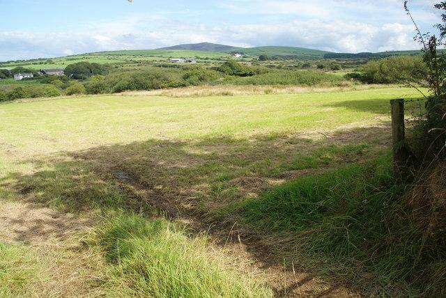 A field by Pen Bank