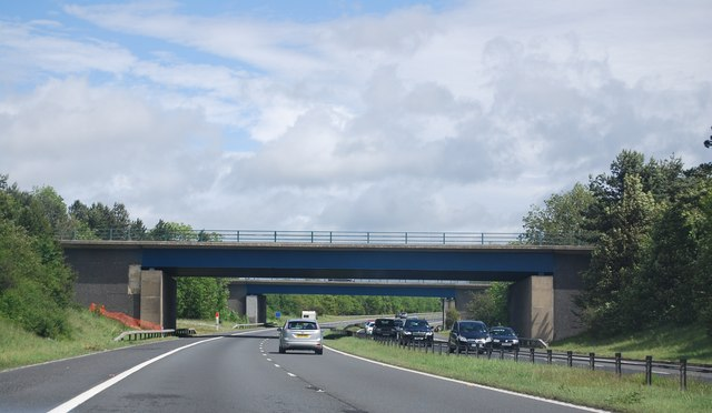 Overbridges Junction 60, A1(M)