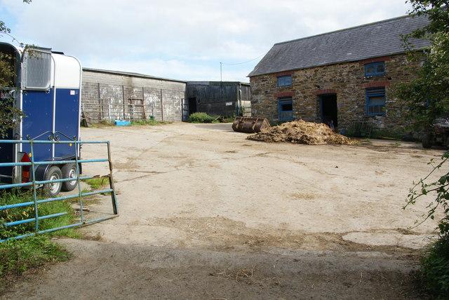 Farmyard at Tyryet
