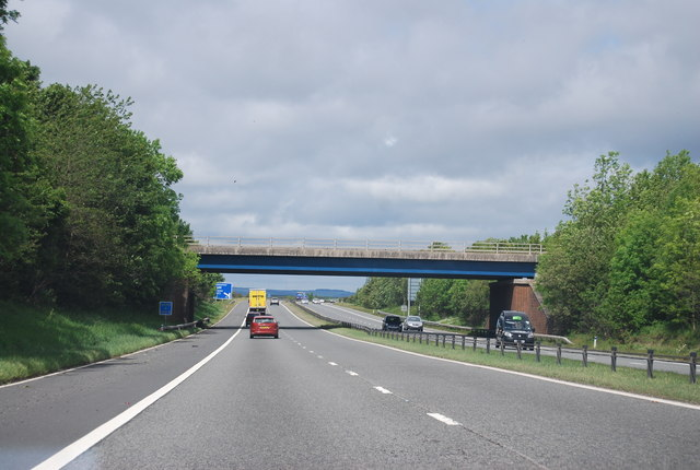 A177 bridge over the A1(M)