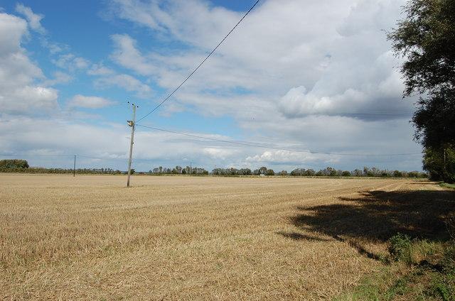 Harvested Field, near Prospect Farm