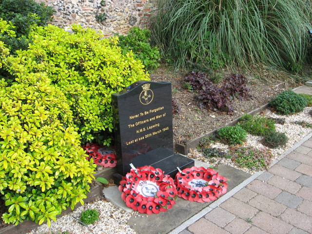 Memorial - HMS Lapwing