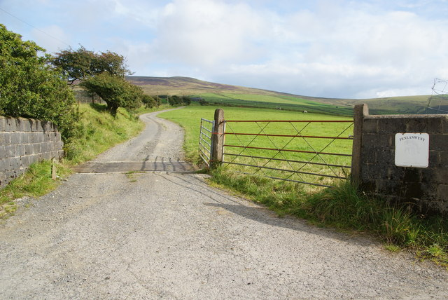 Entrance to Penlanwynt
