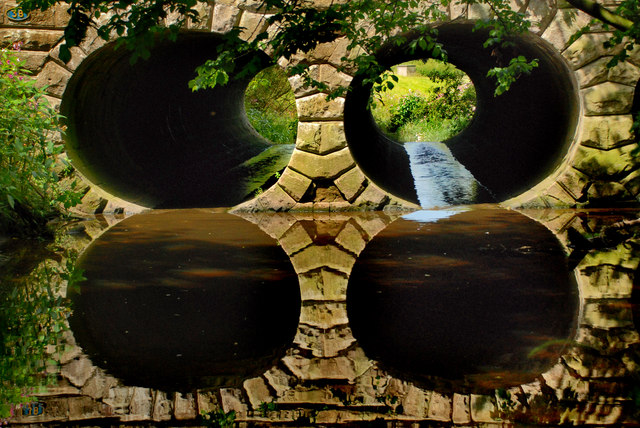 Under the Lancaster Canal - Barton Brook