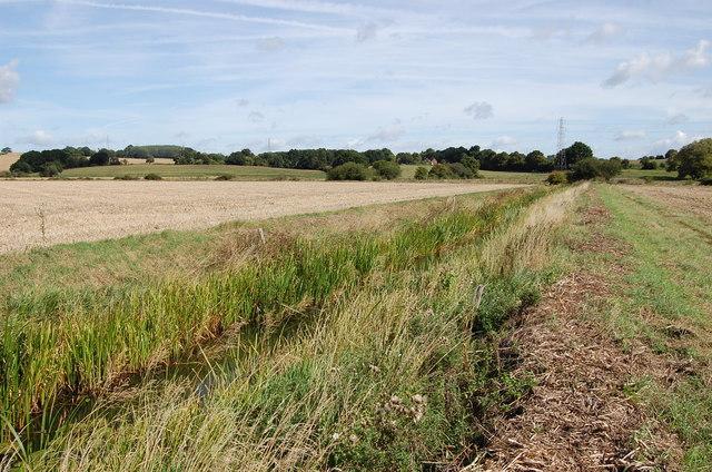 Drain near Marsh Quarter Farm