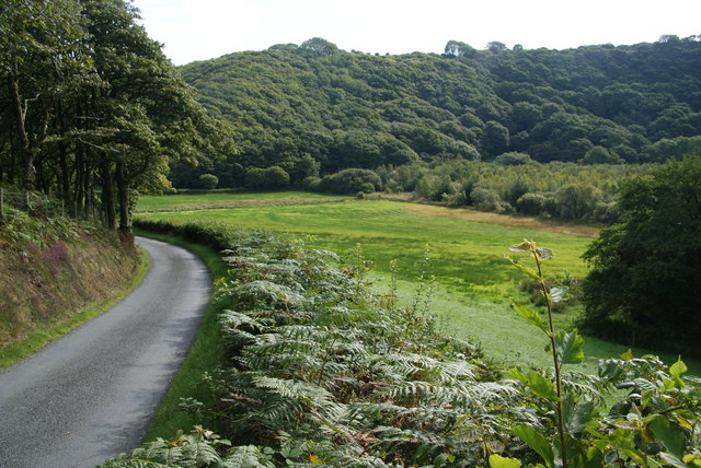 The Gwaun Valley near Llanerch