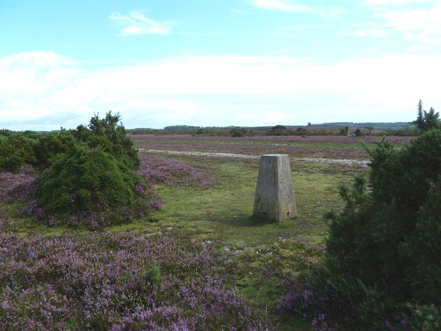 Hampton Ridge, trig point