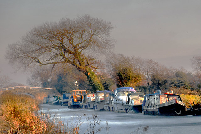 Lancaster Canal - the Winter