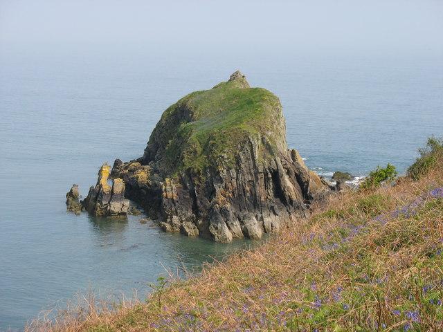 Monkstone from Monkstone Point