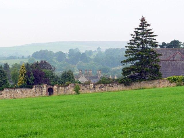The chimneys of Holywood Hall, Holywood
