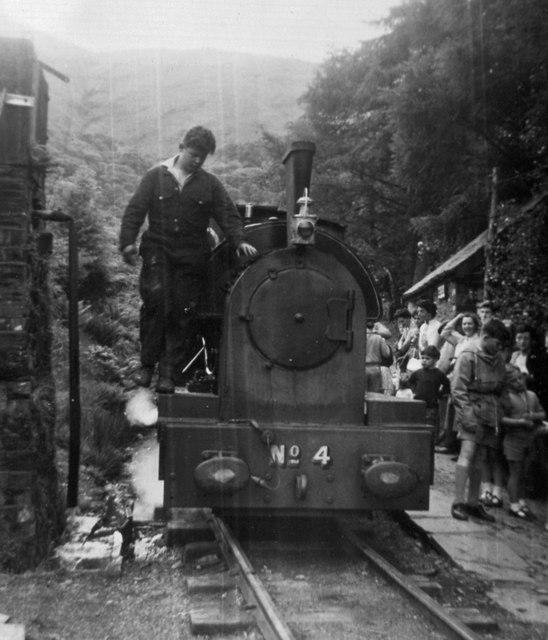 Dolgoch Station, 1961