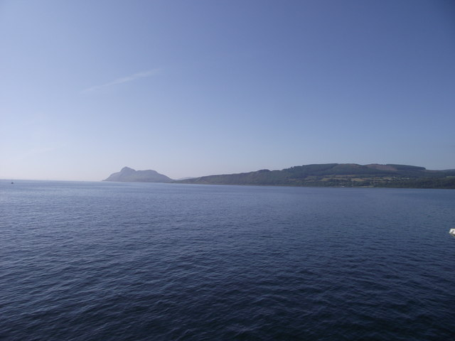 Holy Isle from the Caledonian Isles
