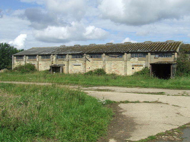 Old WWII Military Building