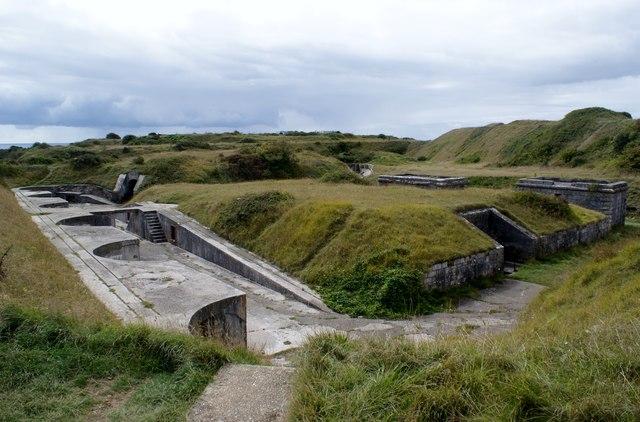 High Angle Battery, Verne, Portland, Dorset