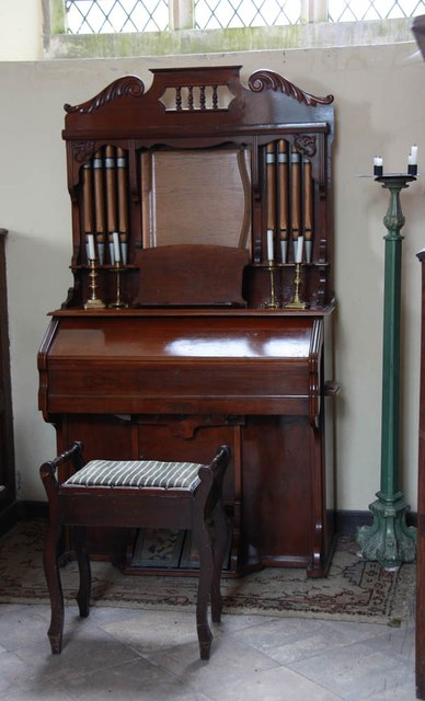 St Mary, Bylaugh - Harmonium
