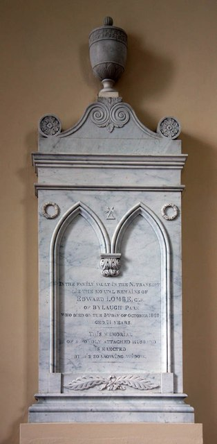 St Mary, Bylaugh - Wall monument