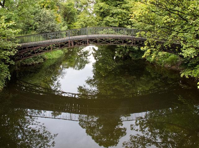 Cambus Iron Bridge