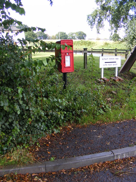 Star Corner Postbox