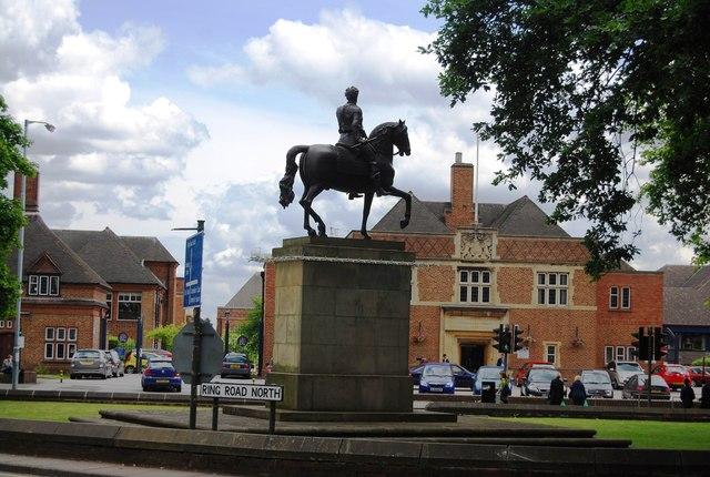 University of Birmingham - Statue of George I