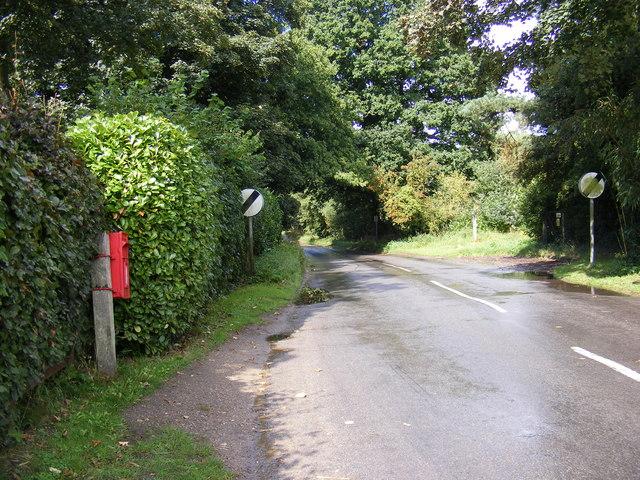 Blyford Lane & The Station Postbox