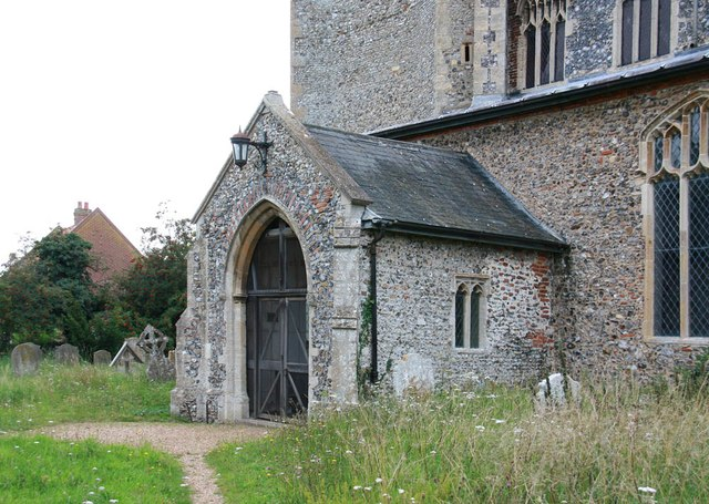 St Mary, Sparham - Porch