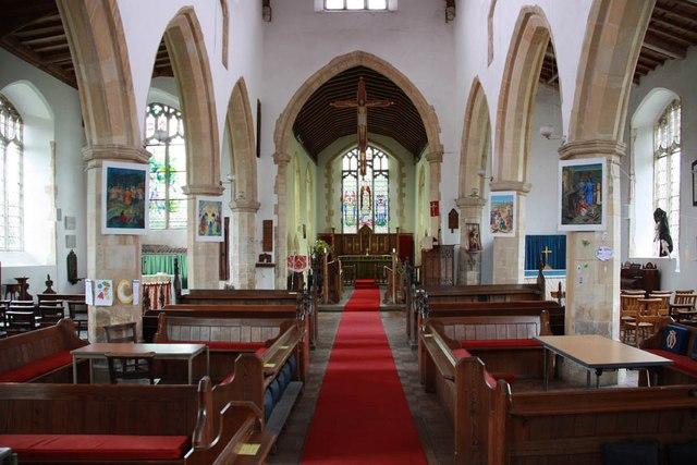 St Mary, Sparham - East end