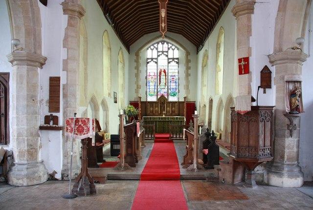 St Mary, Sparham - Chancel