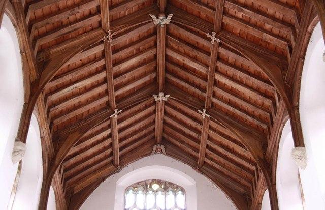 St Mary, Sparham - Roof