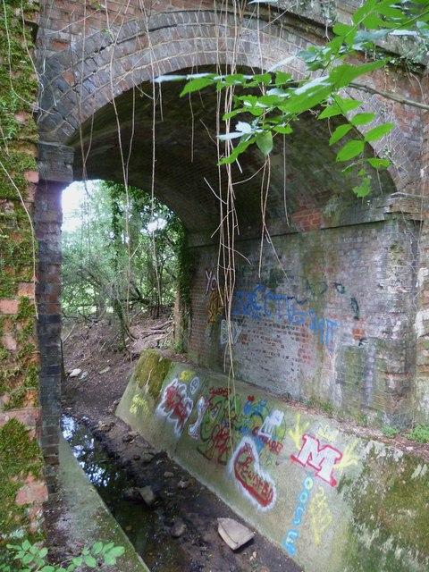 Bridge under the Downs Link near Cranleigh