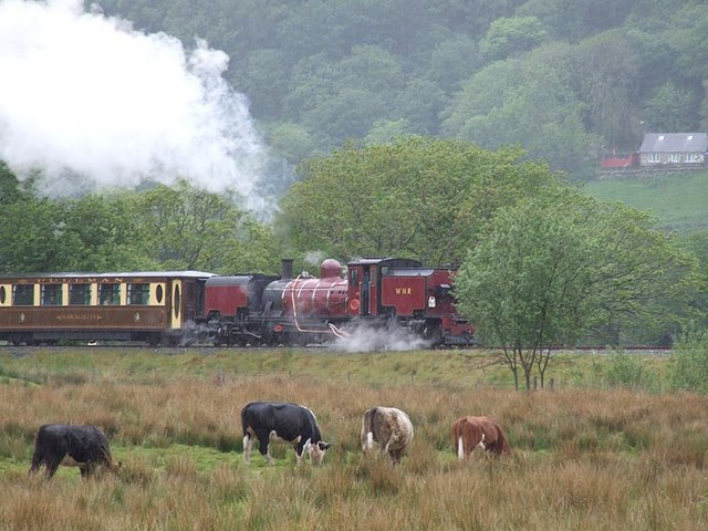 Welsh Highland Railway No. 138 near Nantmor