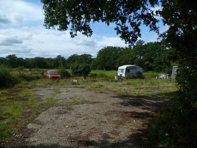 Derelict area near Cranleigh