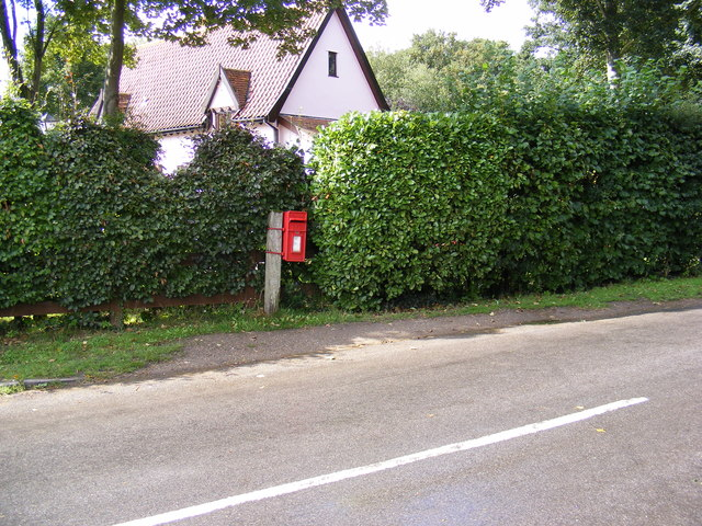 Blyford Lane & The Station Postbox