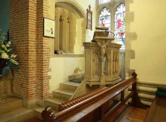 St Giles, Great Hallingbury - Pulpit