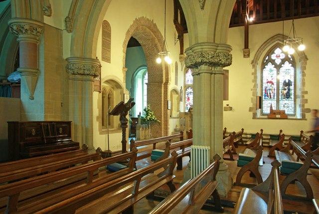 St Giles, Great Hallingbury - Interior