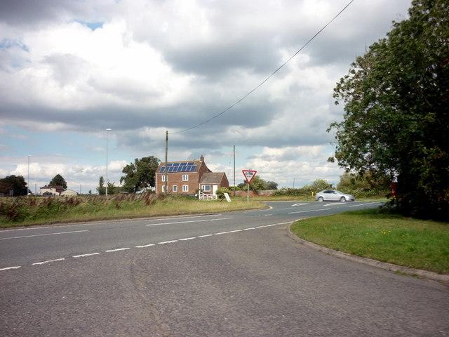 Fleet House on the A17