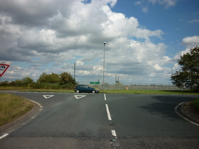 The B1181 joins the A17