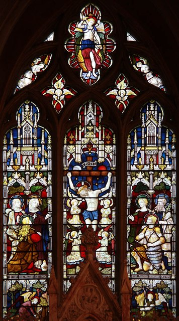 St Giles, Great Hallingbury - Stained glass window