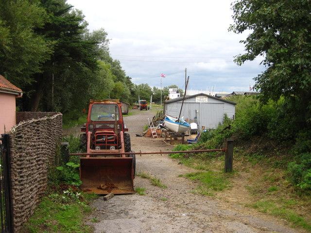 C J Martin's Boatyard, Orford