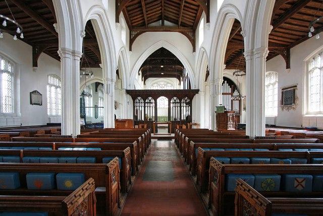 St Michael, Bishops Stortford - East end